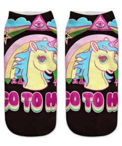 Unicorn Socks Illuminati