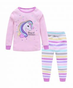 Unicorn Pajamas 4t