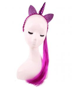 Unicorn Headband And Tail