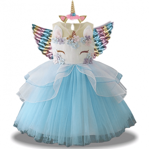 Unicorn Dress Big Girls