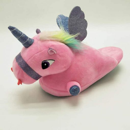 Unicorn Slippers Pink