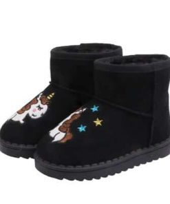 Unicorn Boots Black