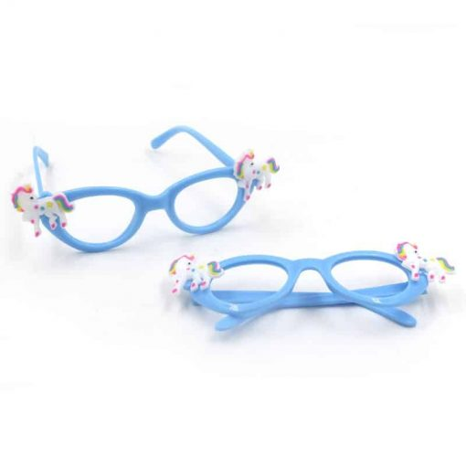 Unicorn Glasses Blue