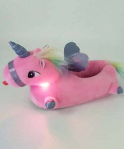 Unicorn Slippers Light Up Amazon Forest