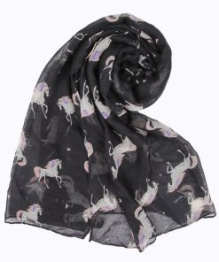 Unicorn Scarf Ladies