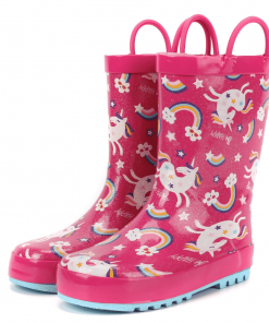 Unicorn Boots Crocs Rain
