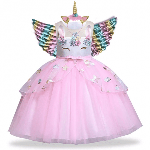 Unicorn Dress With Wings