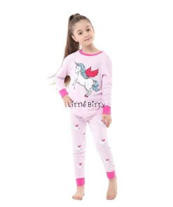 Unicorn Pajamas Fleece
