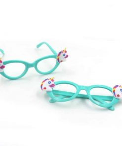 Unicorn Glasses Cyan