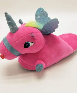 Unicorn Slippers Flying