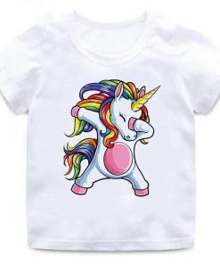 Unicorn Shirt Magic Dab