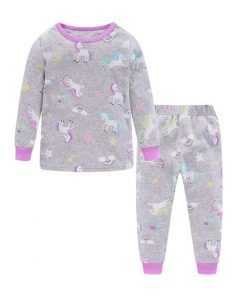 Unicorn Pajamas Girls Set