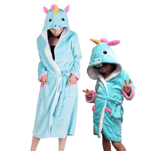 Unicorn Pajamas Little Girl