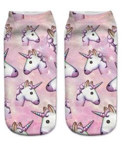 Unicorn Socks Emoji
