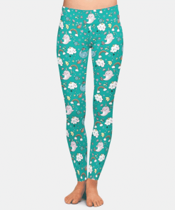 Unicorn Leggings Narwhal