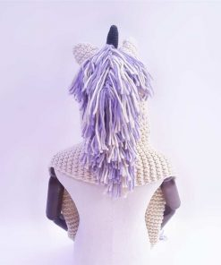 Unicorn Hat Purple