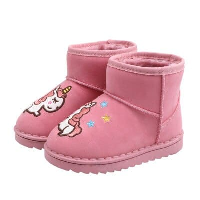 Unicorn Boots Fur