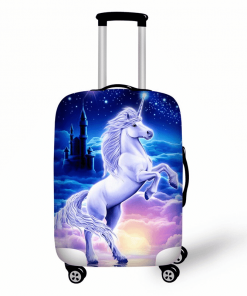 Unicorn Suitcase Castle