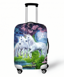 Unicorn Suitcase Cabin Uk