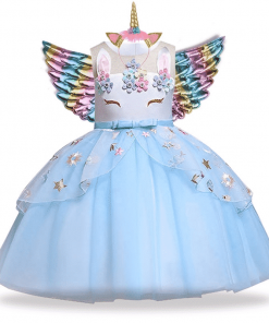 Unicorn Dress Wings Up