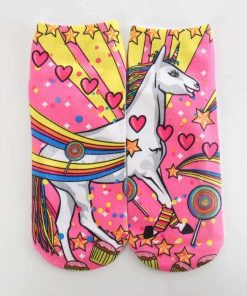 Unicorn Socks Lollipops