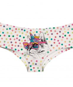 Unicorn Underwear Cat
