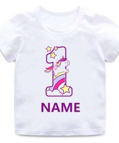 Unicorn Shirt 1st Birthday