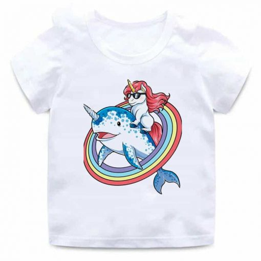 Unicorn Shirt Whale