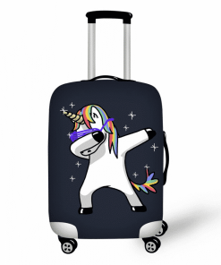 Unicorn Suitcase Dab