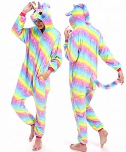 Unicorn Pajamas Hooded