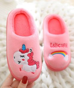 Unicorn Slippers Bedroom