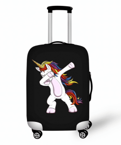 Unicorn Suitcase Dabbing