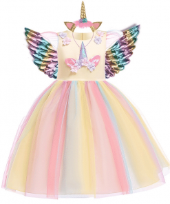 Unicorn Dress Fancy Uk