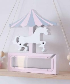 Unicorn Piggy Bank Umbrella Ride