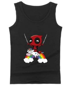 Unicorn Tank Top Deadpool On