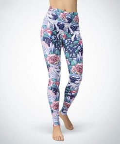 Unicorn Leggings Floral