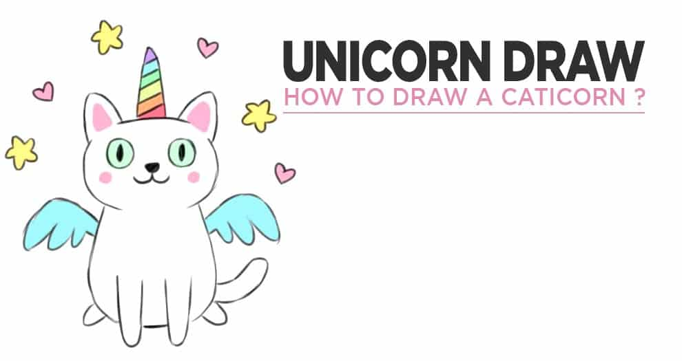 How To Draw A Caticorn ?