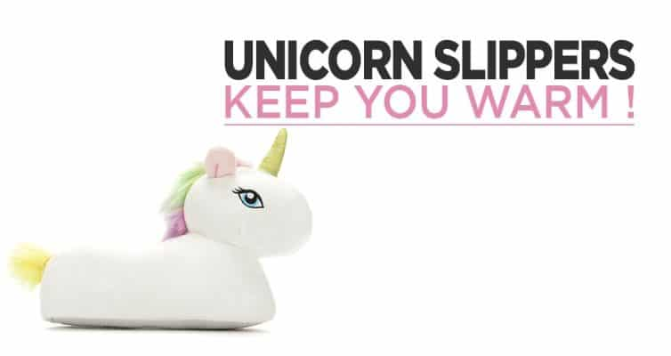 Our Best Unicorn Slippers To Keep You Warm