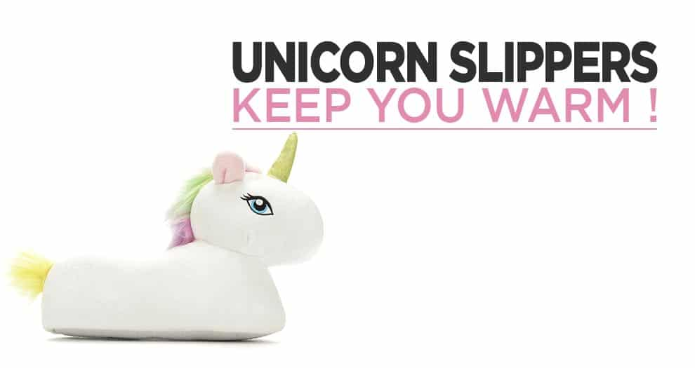The Unicorn Slippers, The Perfect Shoes That Keep You Warm !