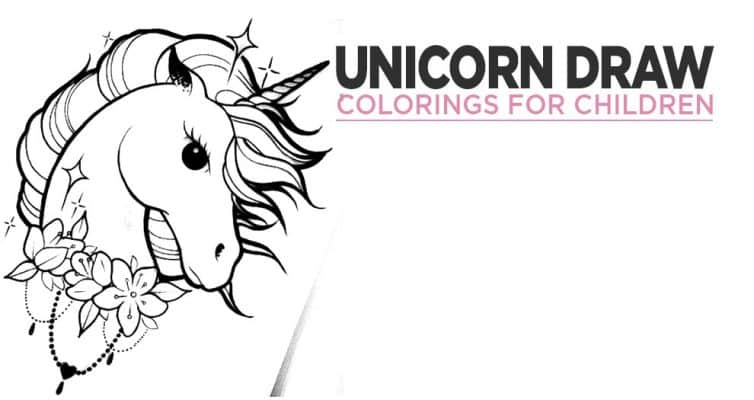 Our Unicorn Colorings For Children