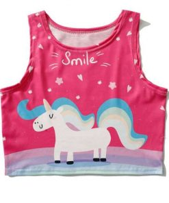 Unicorn Tank Top Pink