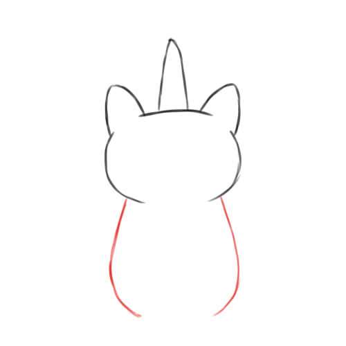 Step 3 Caticorn Body