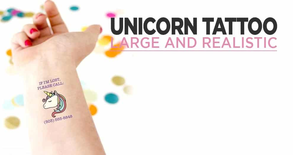 The Most Beautiful Permanent Unicorn Tattoos