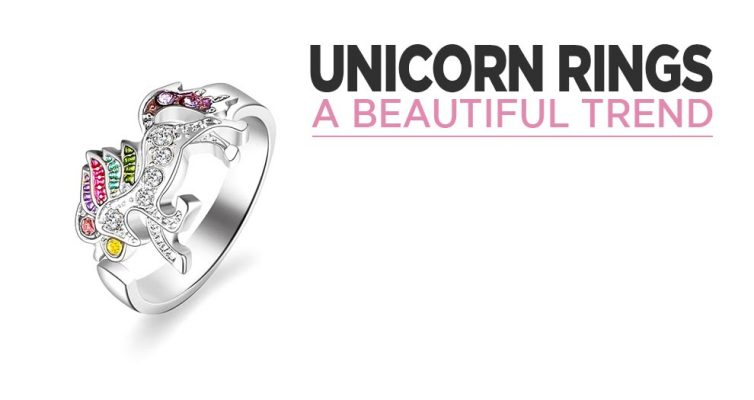The Trend For Unicorn Rings