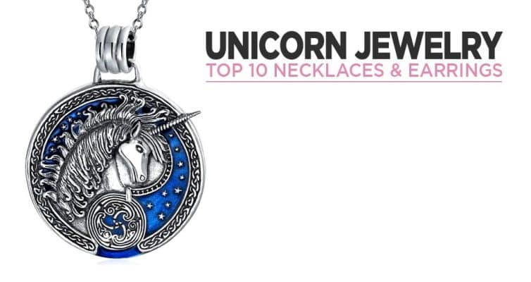 Top 10 Unicorn Necklaces And Earrings