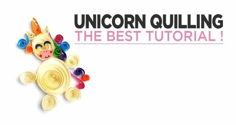 How To Make A Unicorn In Quilling Easily ?