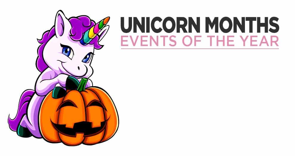 The Months Of The Year Become Unicorns !