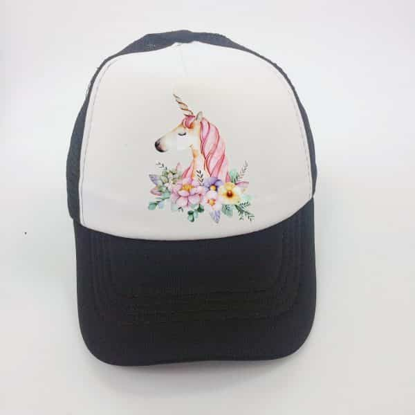 Unicorn Hat Girls Baseball