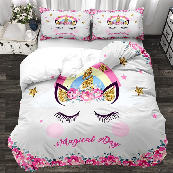Unicorn Twin Bedding Set