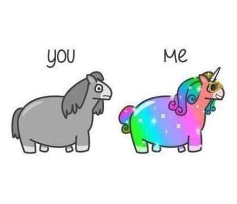 unicorn you and me